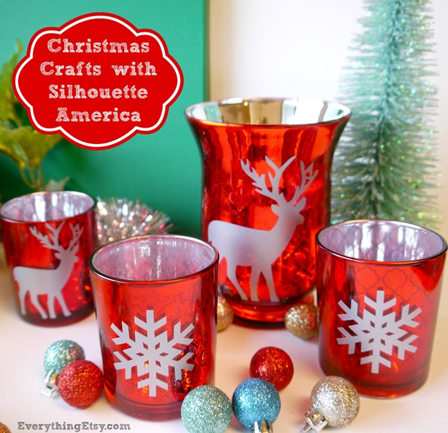 Christmas Crafts with Silhouette America on EverythingEtsy.com