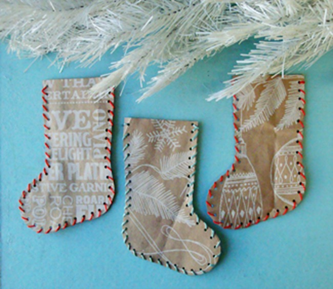 Felt Christmas Stockings To Make