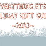 Everything Etsy Holiday Gift Guide–No. 1
