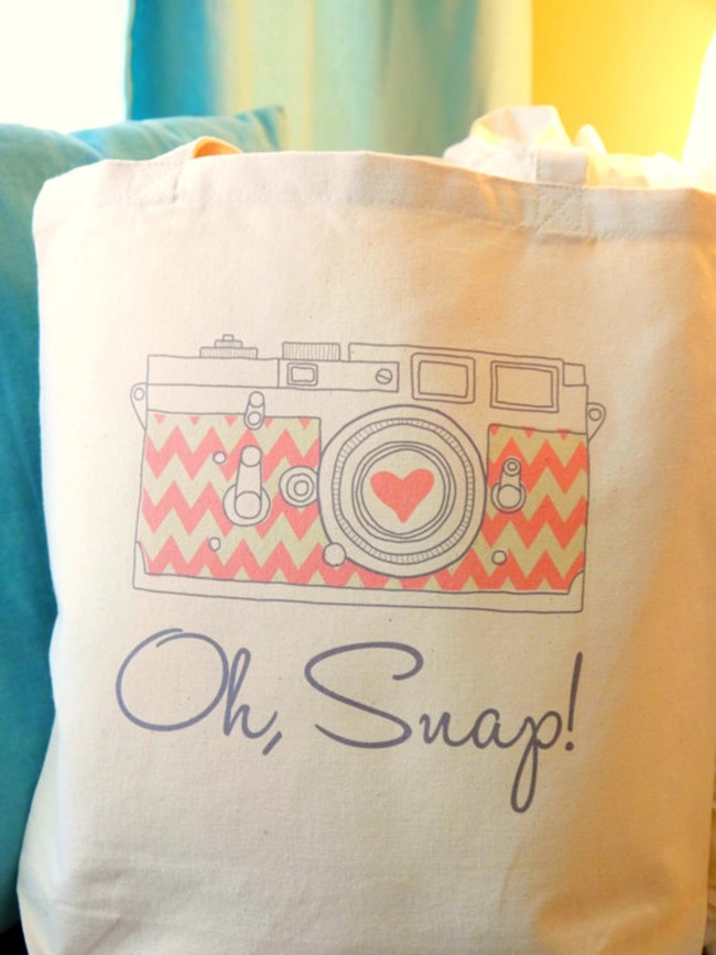 Everything Etsy Holiday Gift Guide - Camera Bag