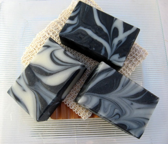 Everything Etsy Holiday Gift Guide - Charcoal Soap