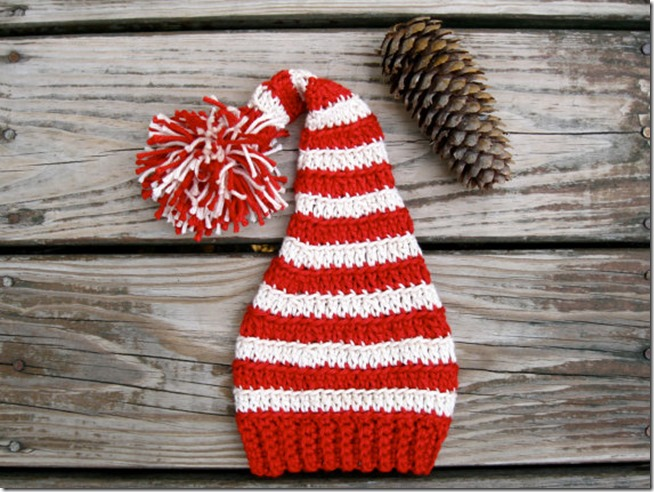 Everything Etsy Holiday Gift Guide - Crochet Christmas Hat