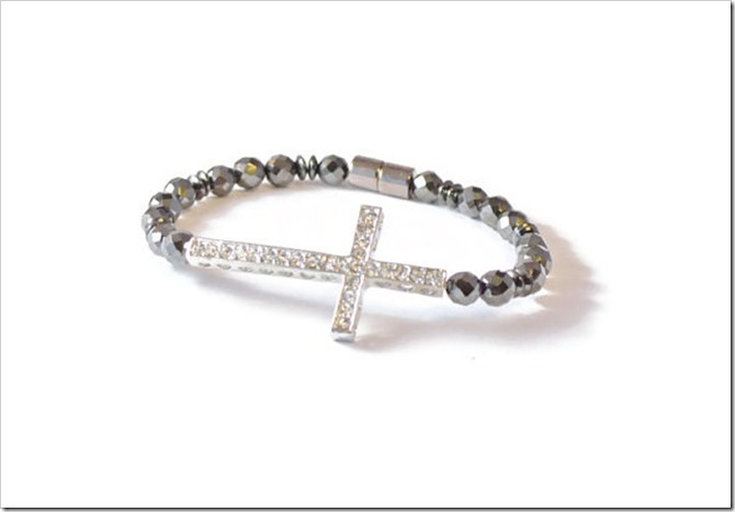 Everything Etsy Holiday Gift Guide - Cross Bracelet