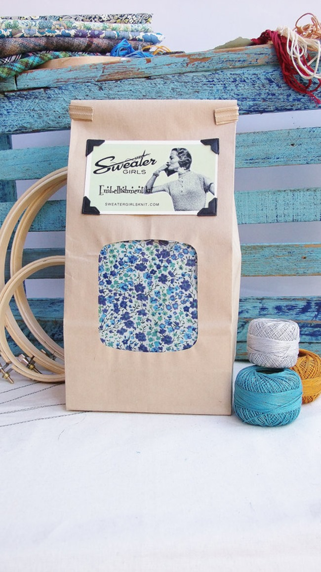 Everything Etsy Holiday Gift Guide - Embroidery Kit