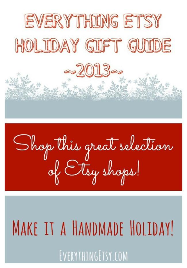 Everything Etsy Holiday Gift Guide - EverythingEtsy.com