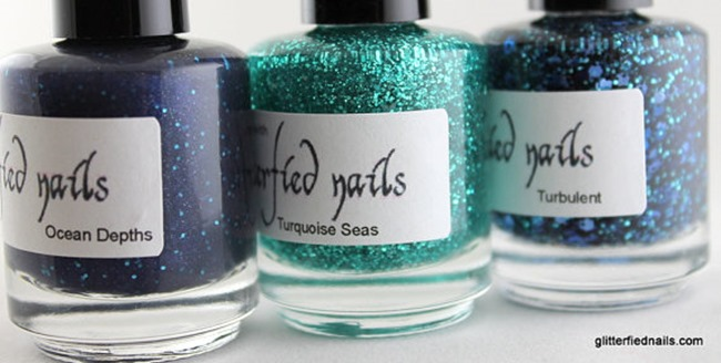 Everything Etsy Holiday Gift Guide - Glitter Nail Polish