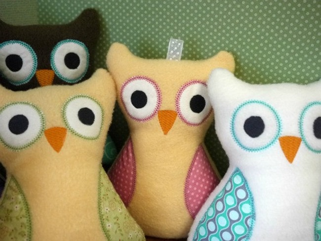 Everything Etsy Holiday Gift Guide - Plush Owl Toy