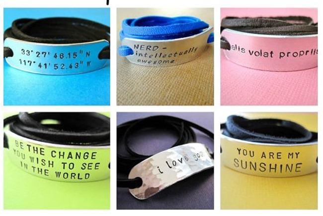 Everything Etsy Holiday Gift Guide - wrap bracelets