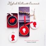 Handmade Silhouette Ornaments Tutorial & Le Papier Studio Giveaway