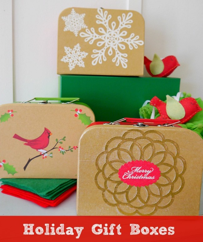 Holiday Gift Boxes - DIY Ideas on EverythingEtsy.com