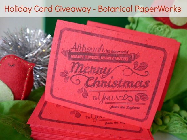 Holiday Gift Cards - EverythingEtsy.com - Enter the Giveaway!