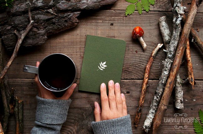 Holiday Gift Guide - Forest Notebook