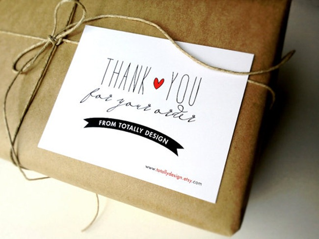 Holiday Gift Guide - Thank You Cards