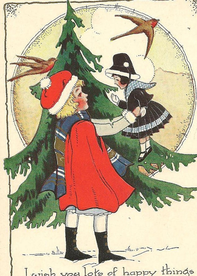 Holiday Gift Guide - Vintage Postcard