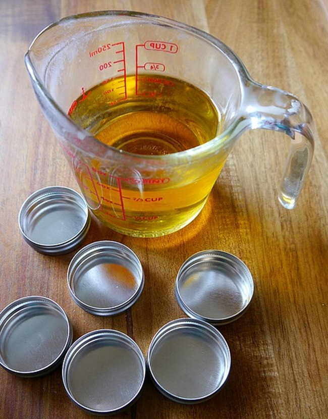 Homemade Lip Balm - In process - EverythingEtsy