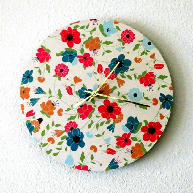 Shannybeebo Clock - Shabby