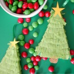 Christmas Tree Piñata Ornaments {Holiday Tutorial}