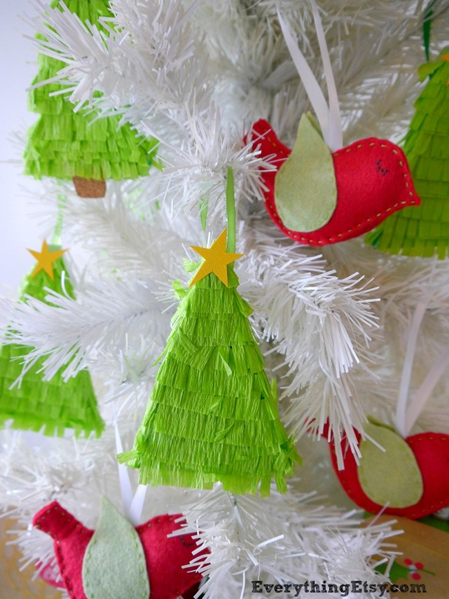 Christmas Tree Pinatas on EverythingEtsy.com