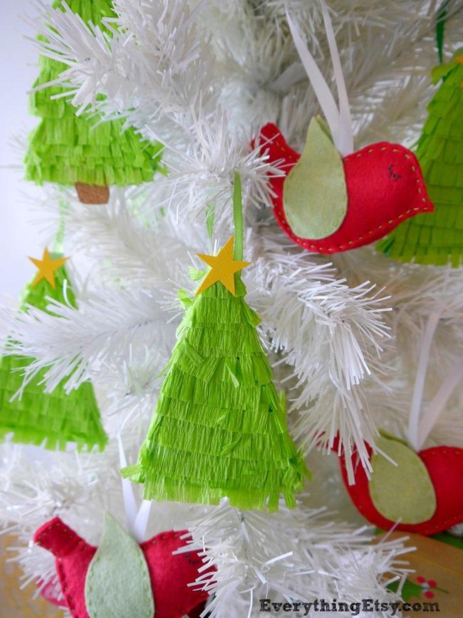 Christmas Tree Pinatas on EverythingEtsy.com