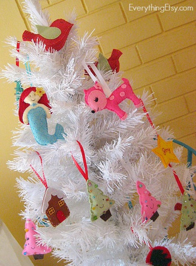 Felt Ornaments and Patterns on EverythingEtsy
