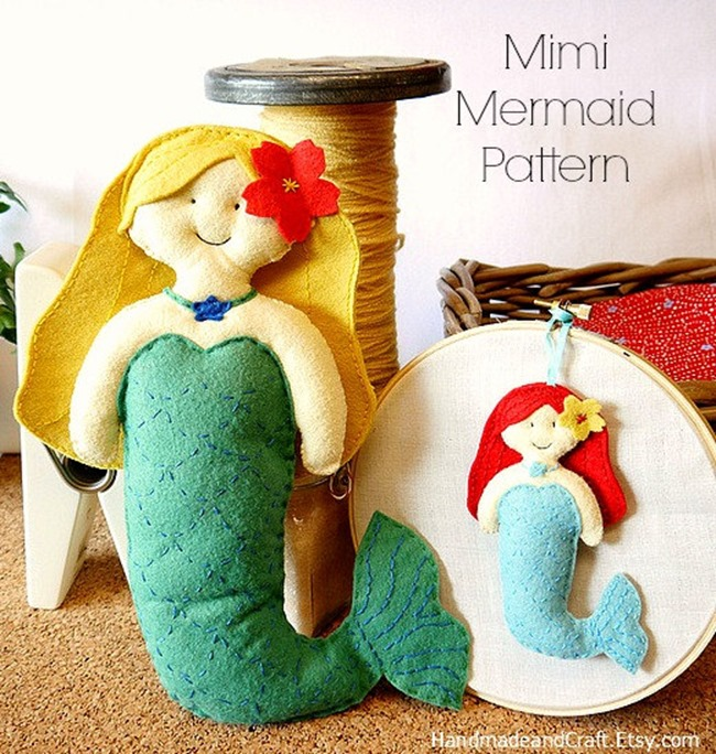 Felt Sewing Pattern - Handmade and Craft on Etsy