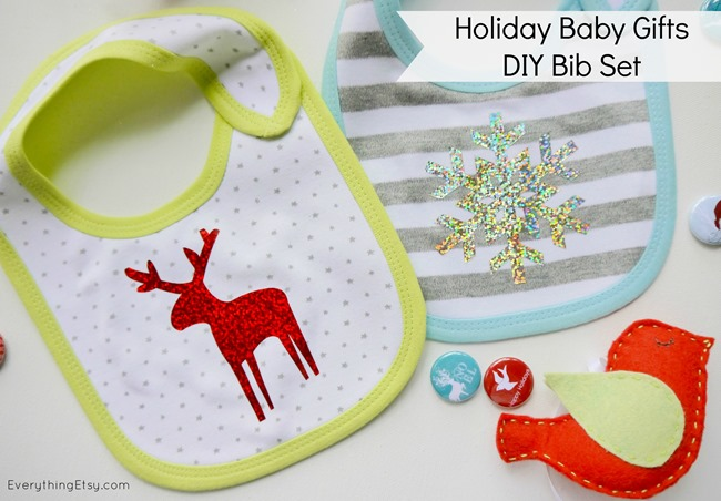 Holiday Baby Bid - DIY Gift Idea on EverythingEtsy.com