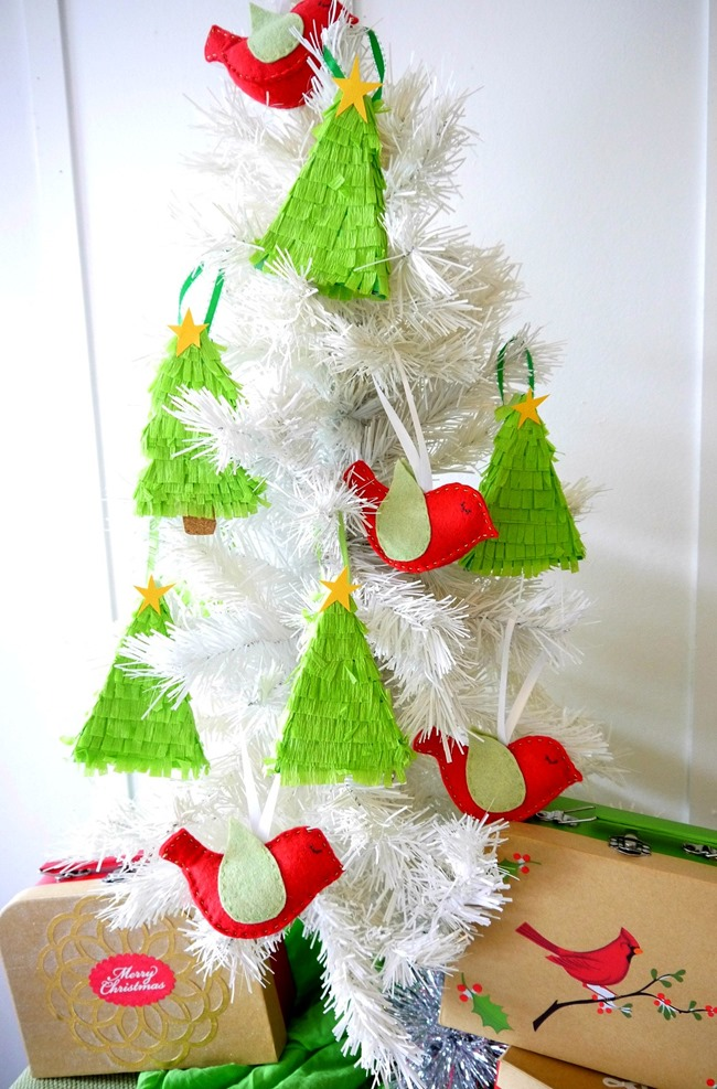 Pinata Ornaments - Christmas Craft DIY on EverythingEtsy.com