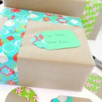 Pretty Holiday Packages & Fun Gift Tags
