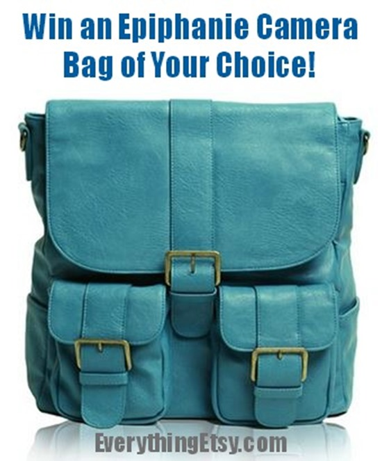Win an Epiphanie Camera Bag of Your Choice on EverythingEtsy.com