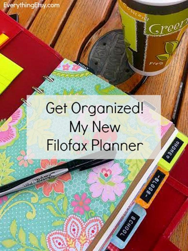 Get Organized - My New Filofax Planner  {customized}