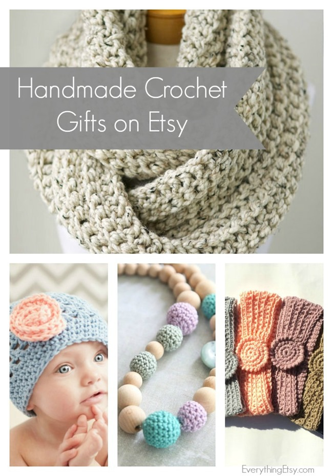 Handmade Crochet Gifts on Etsy - EverythingEtsy.com