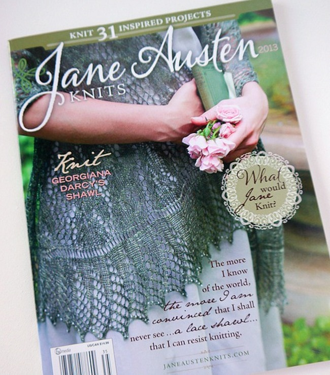 Jane Austen Knitting Patterns : Jane Austen Knits Magazine Featured Our Tote Bag!