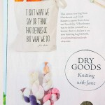 Jane Austen Knits Magazine Featured Our Tote Bag!