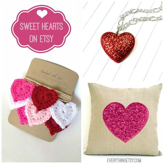 Sweet Hearts on Etsy - EverythingEtsy.com