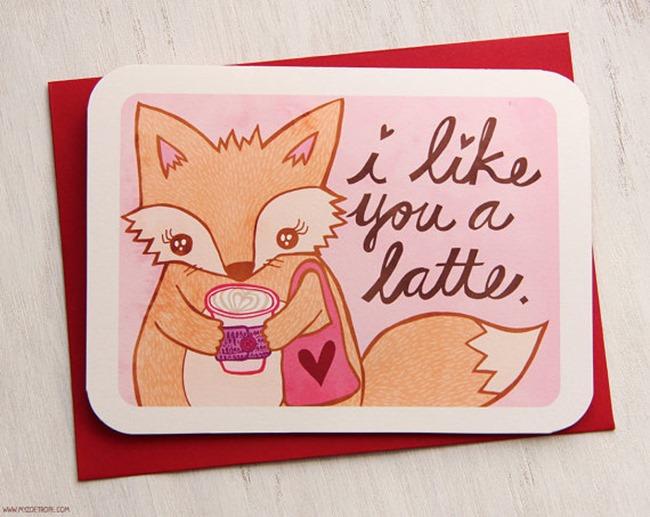 Valentine's Day Cards - Fox