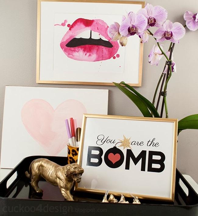 Valentine's Day Printable - Cukoo4design