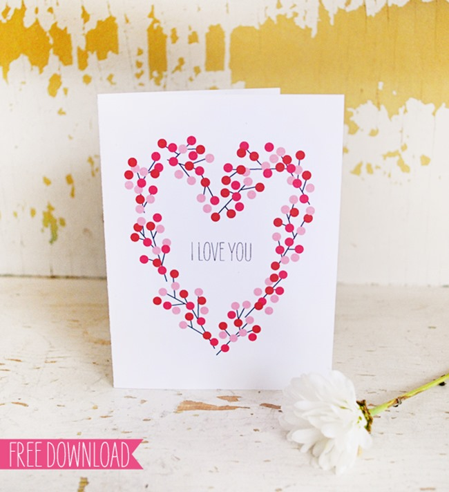 Valentine's Day Printable - Sweet Muffin Suite