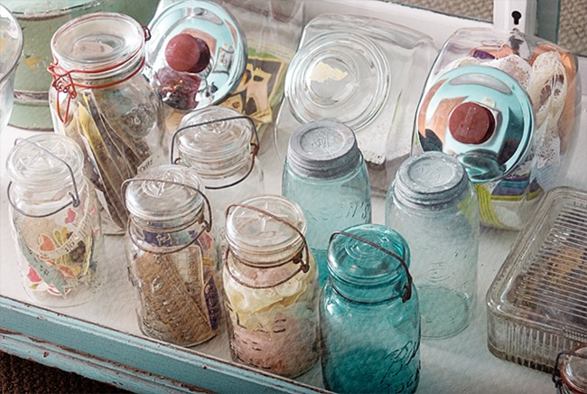 craft room - jar storage