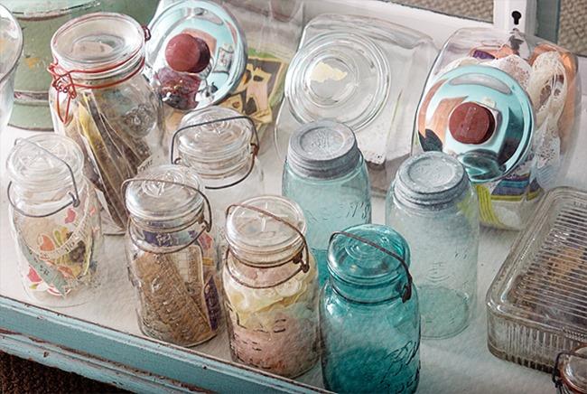 craft room - jar storage