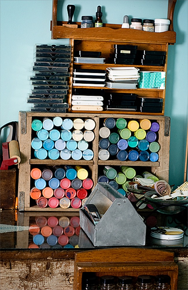 craft room - storage