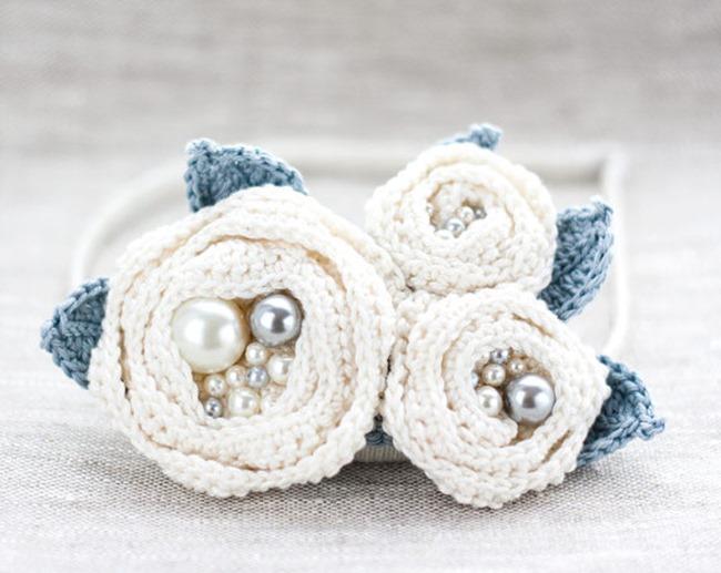 crochet accessories on Etsy