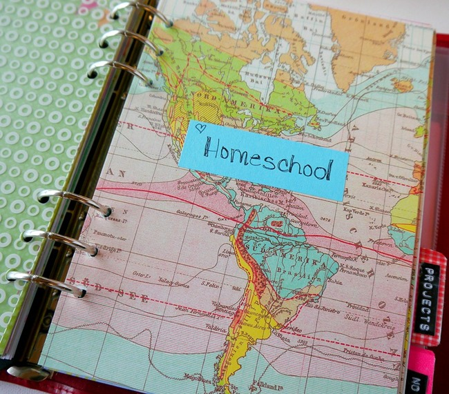 filofax - homeschool