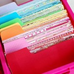 Scrapbook Supplies–So Organized! {12 Awesome Ideas}