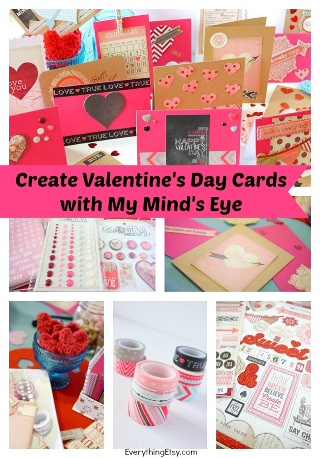 Create Valentine's Day Cards with My Mind's Eye l EverythingEtsy.com