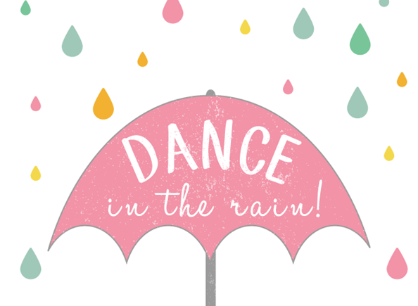 Dance in the Rain! {Free Spring Printable}