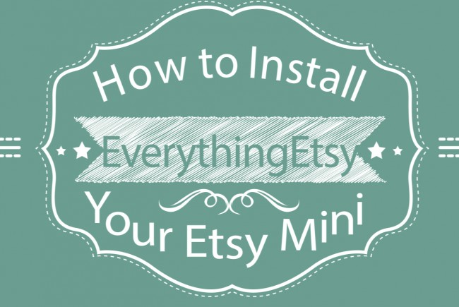 How To Install Your Etsy Mini in WordPress {video}