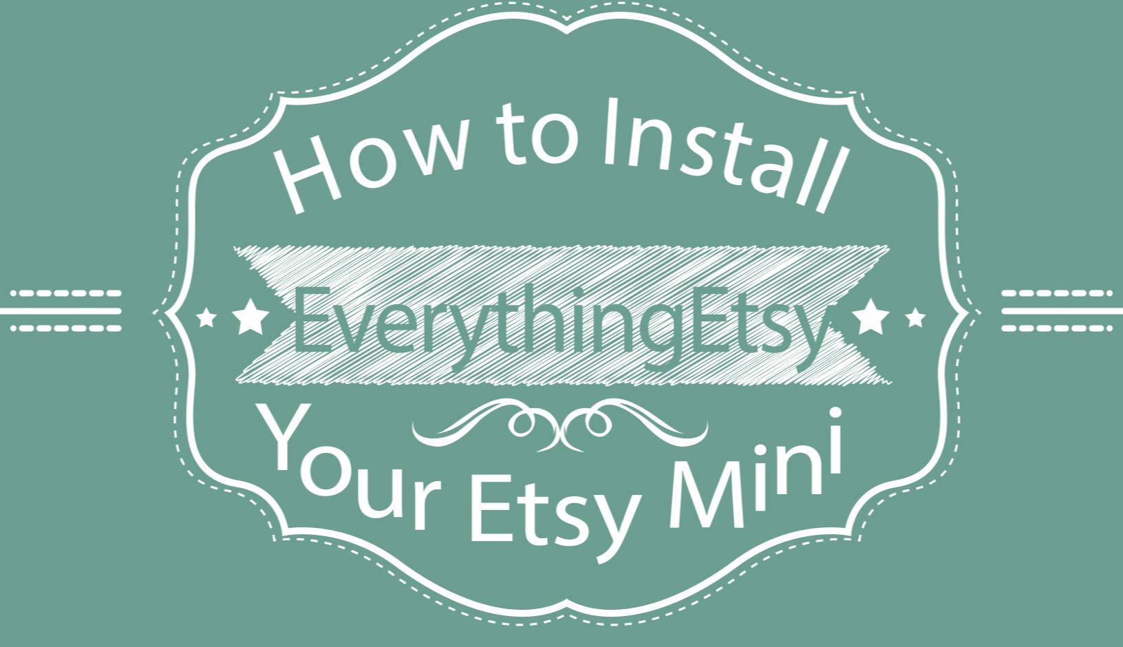 Etsy Mini Video Cover