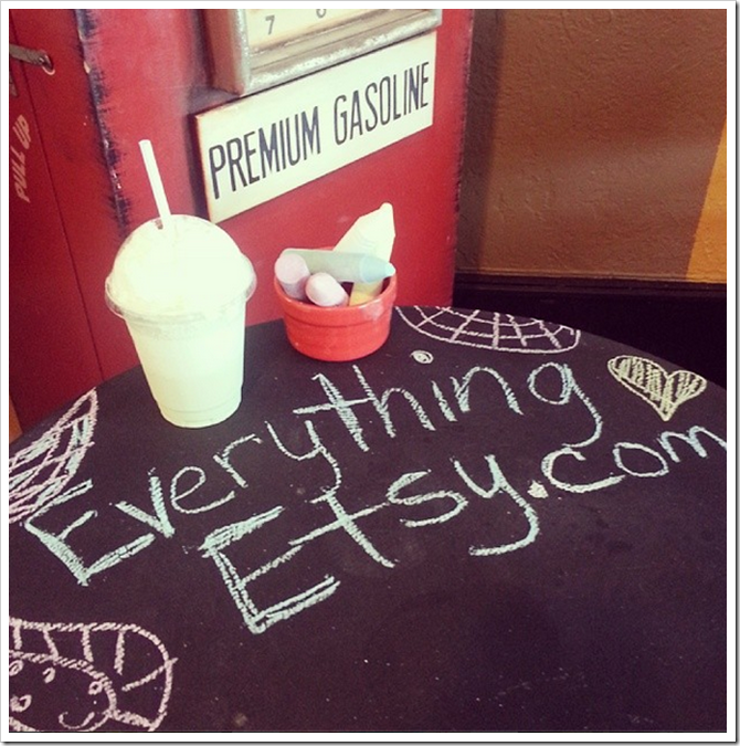 Everything Etsy Instagram - Coffee Shop
