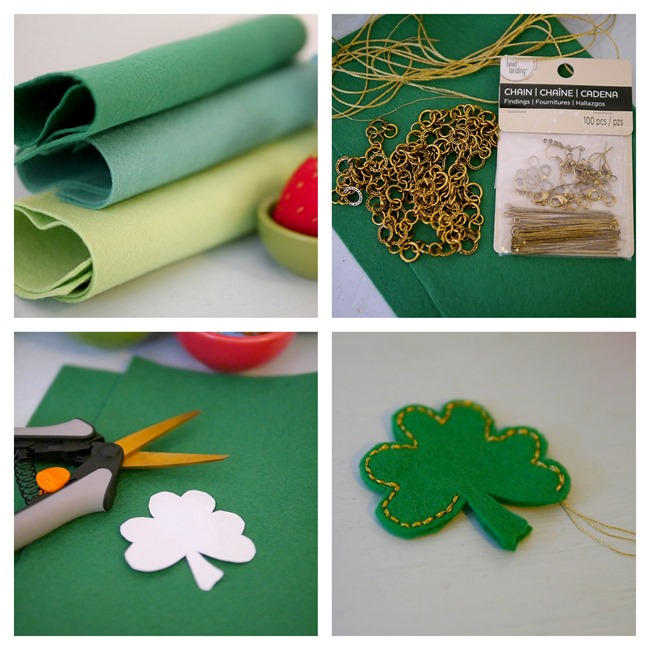 Making a shamrock necklace on EverythingEtsy.com