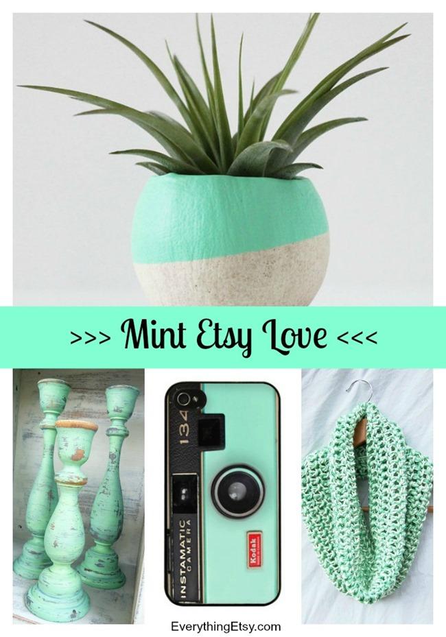 Mint Etsy Love - EverythingEtsy.com
